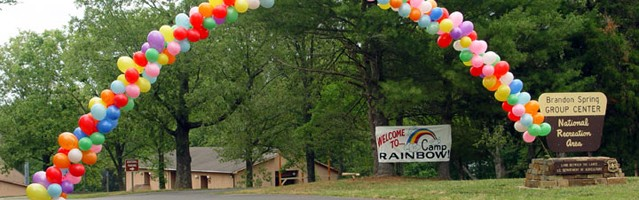 Camp Rainbow Entrance